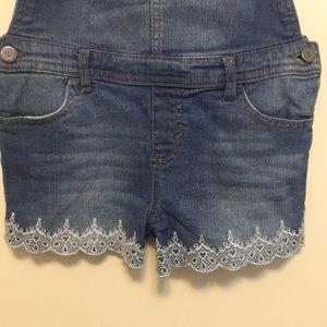 32dbc5c3146 Epic Threads Bottoms - Little girls short overalls